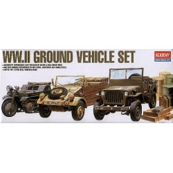 WWII LIGHT VEHICLES 1/72