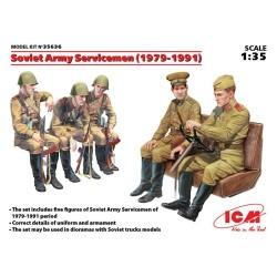 SOVIET SERVICEMEN (1979-1991) 1/35