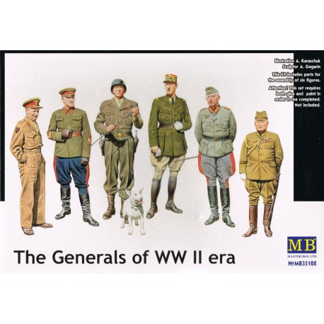 THE GENERALS WWII 1/35