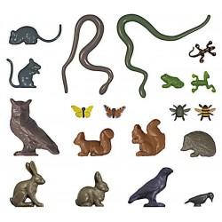 Kleine dieren set 1/87 H0 schaal