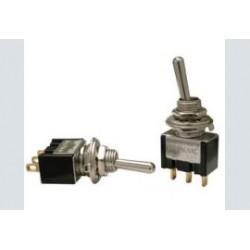 tuimelschakelaar mini 1x   aan/uit/aan  low cost  gat-6.5mm