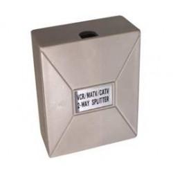 Coax-spl.900mc  2 uit (opbouw)