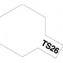 Acryl spuitbus plastics pure white TS-26 100ml.