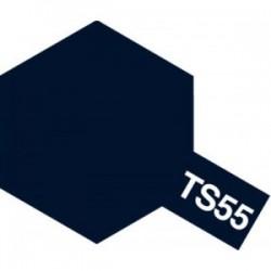 Acryl spuitbus plastics dark blue TS-55 100ml.