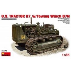 U.S. TRACTOR D7 w/TOWING WINCH 1/35