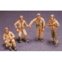 U.S. M10 TANK CREW 1/35