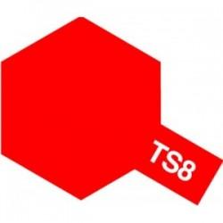 Acryl spuitbus plastics ferrari red TS-8 100ml.