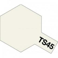 Acryl spuitbus plastics pearl white TS-45 100ml.