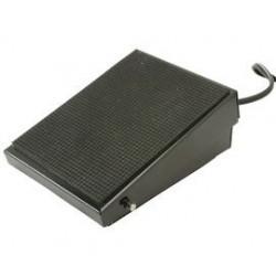 Voetschakelaar  1x aan druk aan, druk uit (3mtr kabel, 6.3 jack)