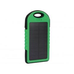 Zonnepaneel met accu voor smartphone