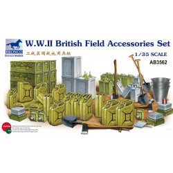 WWII BRITISH FIELD ACC. SET 1/35
