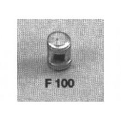 Messing lantaarn 4x6mm 4 stuks