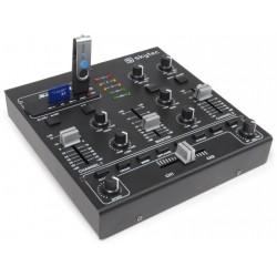 audio mengpaneel met effekten USB/MP3
