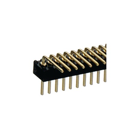 SIL male 1x50p 1.27mm hks