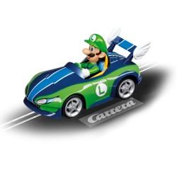 """carrera GO mario kart """"luigi"""