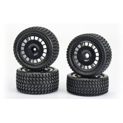 1/10 All Terrain 2WD bandenset (4)