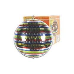 Gekleurde spiegelbol D30cm