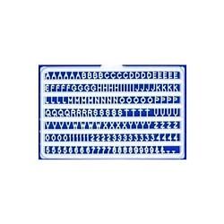 Letters en cijfers 2mm