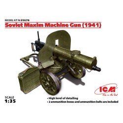 SOVIET MAXIM MACHINE GUN (1941) 1/35