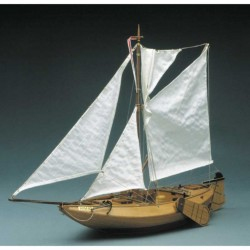 Vissersboot Arnemuiden 62cm