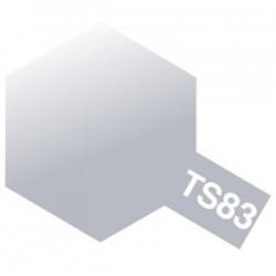 Acryl spuitbus plastics metallic zilver TS-83 100ml.