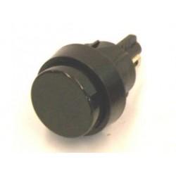 druk-pulsschakelaar 250VAC 2A 1x maak zwart gat-16mm