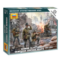 German Elite Troops 1939-43 1/72 SNAP KIT