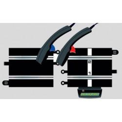 Startstuk scalextrix racebaan + controllers