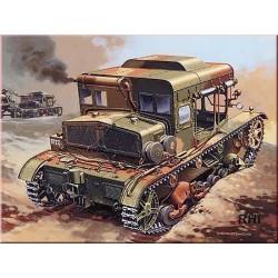 WWII C7P HEAVY ARTILLERY TRACTOR GERMAN/POLEN 1/35