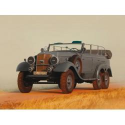 WWII G4 GERMAN STAFF CAR 1/35