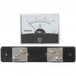 Paneelmeter 0-30A 60x45mm