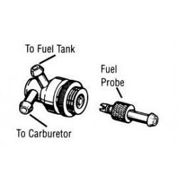 Kwik fill fueling valve