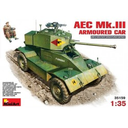AEC MK3 ARMOURED CAR 1/35