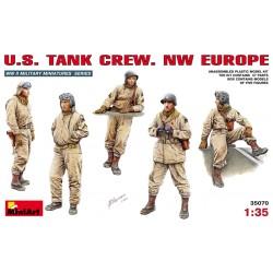 U.S. TANK CREW NW EUROPE 1/35