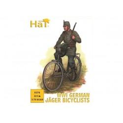 WWI GERMAN JAGER BICYCLIST 1/72