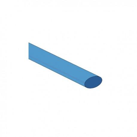 Krimpkous 3/8`` 9.5mm blauw