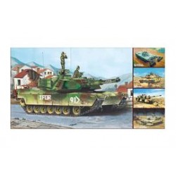 M1A1/2 ABRAMS 5IN1 KIT 1/35