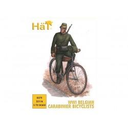 WWI BELGIAN CARABINIER BICYCLIST 1/72