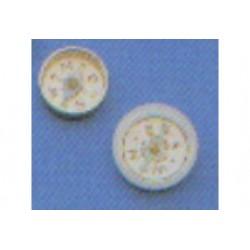 magneetkompas 10 mm 2 stuks
