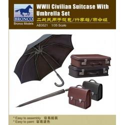 WWII CIVILIAN SUITCASE 1/35