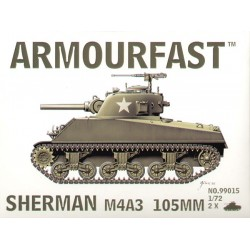 SHERMAN M4A3 105MM 1/72