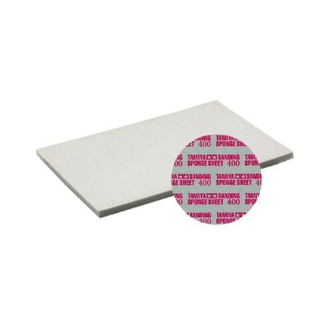 Flexibele schuur/polijst spons sheet 400