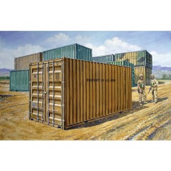 20' MILITARY CONTAINER 1/35