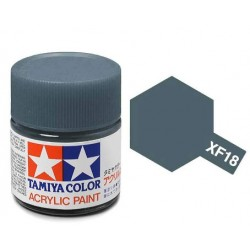 Potje acrylverf XF-18 medium blue 23cc
