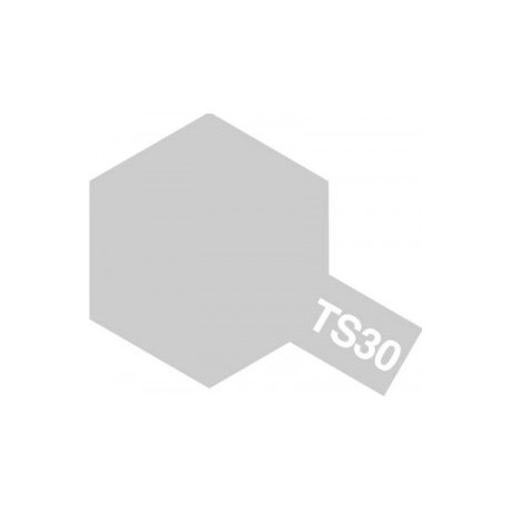 Acryl spuitbus plastics silver leaf TS-30 100ml.