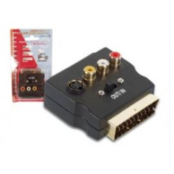 scart adapter gold