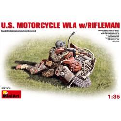 U.S. MOTOR w/RIFLEMAN 1/35