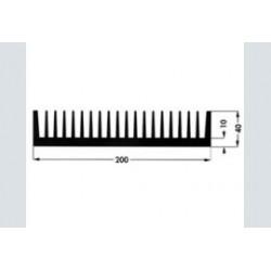 koelprofiel SK44 75mm 0.85C/W