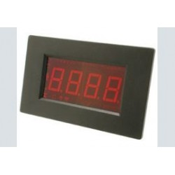 Paneelmeter 0-0,2V LED 66x44mm