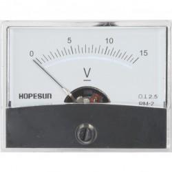 Paneelmeter 60x45 kl2.5 15V